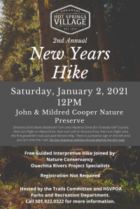 2nd Annual New Year's Hike