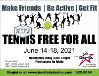Spring Tennis Free for All