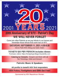 20th Annual 9/11- Patriot Day