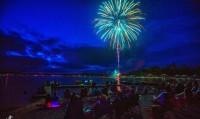 Fireworks on Lake Balboa - 50th Anniversary Celebration