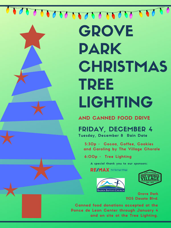 Grove Park Christmas Treelighting 2020